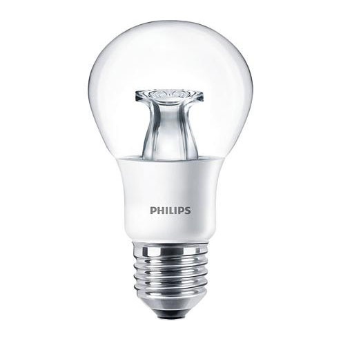 PH LED GLS ES 8.5W=60W 827 CLR DT 25K DIMMABLE DIMTONE
