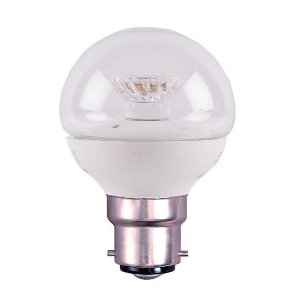 BL LED BALL BC 4W=25W 827 CLR ND 25K NON DIMMABLE