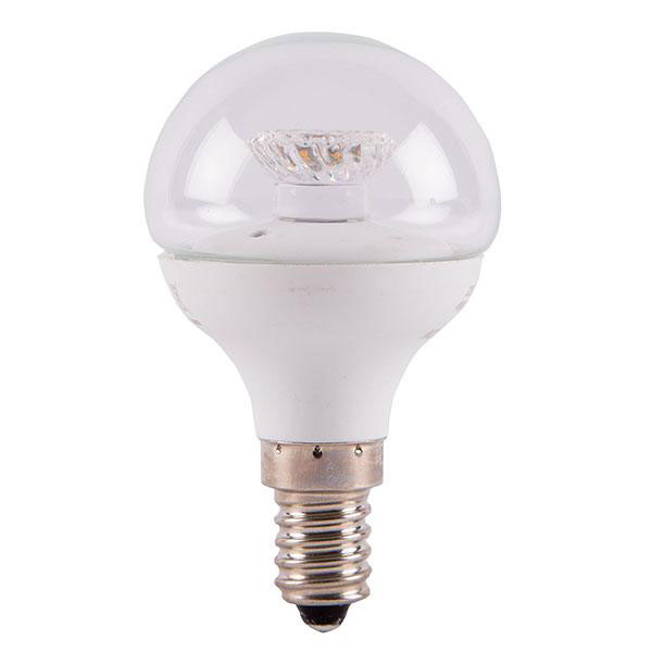 BL LED BALL SES 4W=25W 827 CLR ND 25K NON DIMMABLE