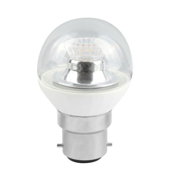 BL LED BALL BC 4W=25W 827 CLR D 25K DIMMABLE