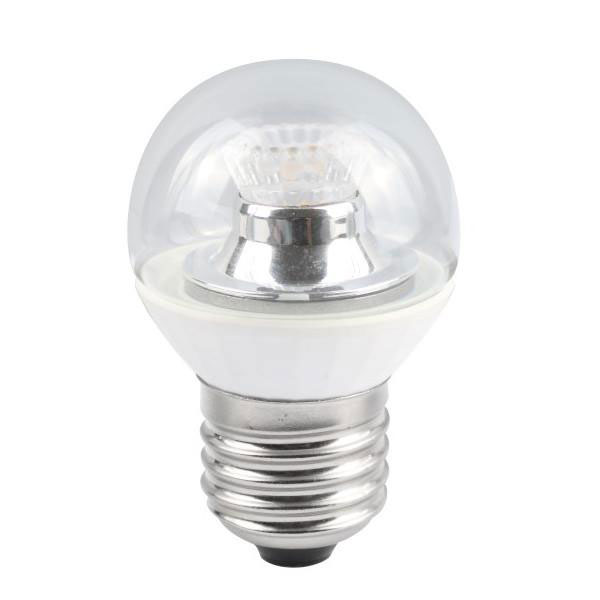 BL LED BALL ES 4W=25W 827 CLR D 25K DIMMABLE