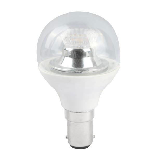 BL LED BALL SBC 4W=25W 840 CLR D 25K DIMMABLE