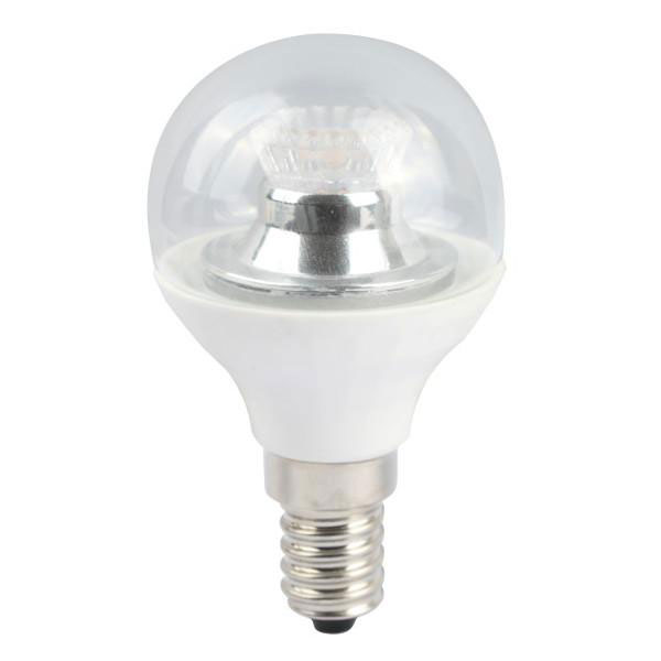 BL LED BALL SES 4W=25W 840 CLR D 25K DIMMABLE