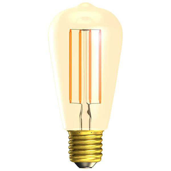 BL LED RUSTIKA ES 4W=25W GOLD D VINTAGE 15K DIMMABLE FILAMENT