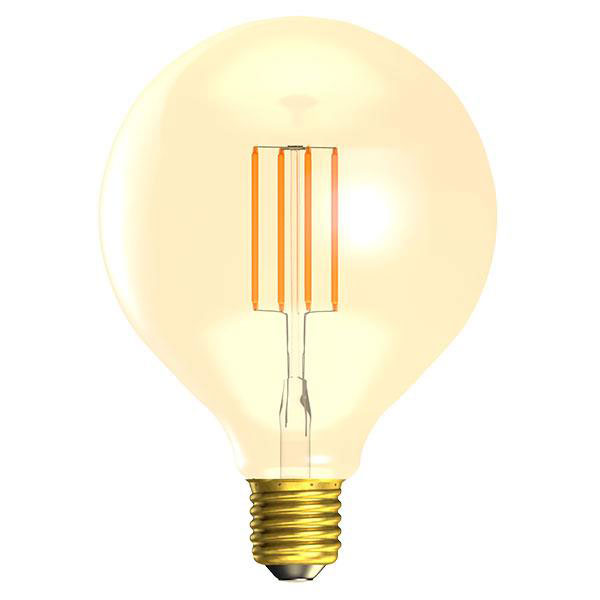 BL LED GLOBE ES 4W=25W GOLD VINTAGE 125MM 15K DIMMABLE FILAMENT