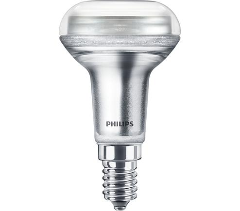 PH LED R50 SPOT SES 4.3W=60W 827 CLR D 15K DIMMABLE COREPRO CLEAR
