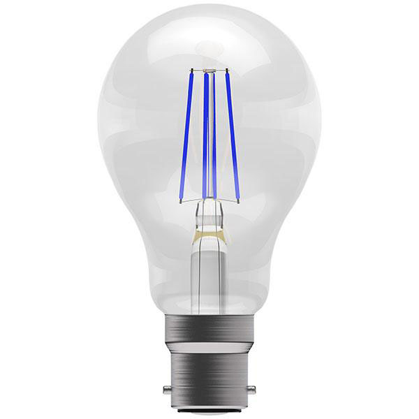 BL LED GLS BC 4W=40W BLUE ND 15K FILAMENT NON DIMMABLE