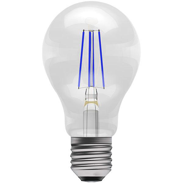 BL LED GLS ES 4W BLUE FIL ND 15K NON DIMMING FILAMENT