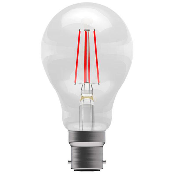 BL LED GLS BC 4W=40W RED ND 15K FILAMENT NON DIMMABLE