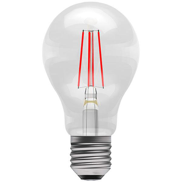 BL LED GLS ES 4W=40W RED ND 15K FILAMENT NON DIMMABLE