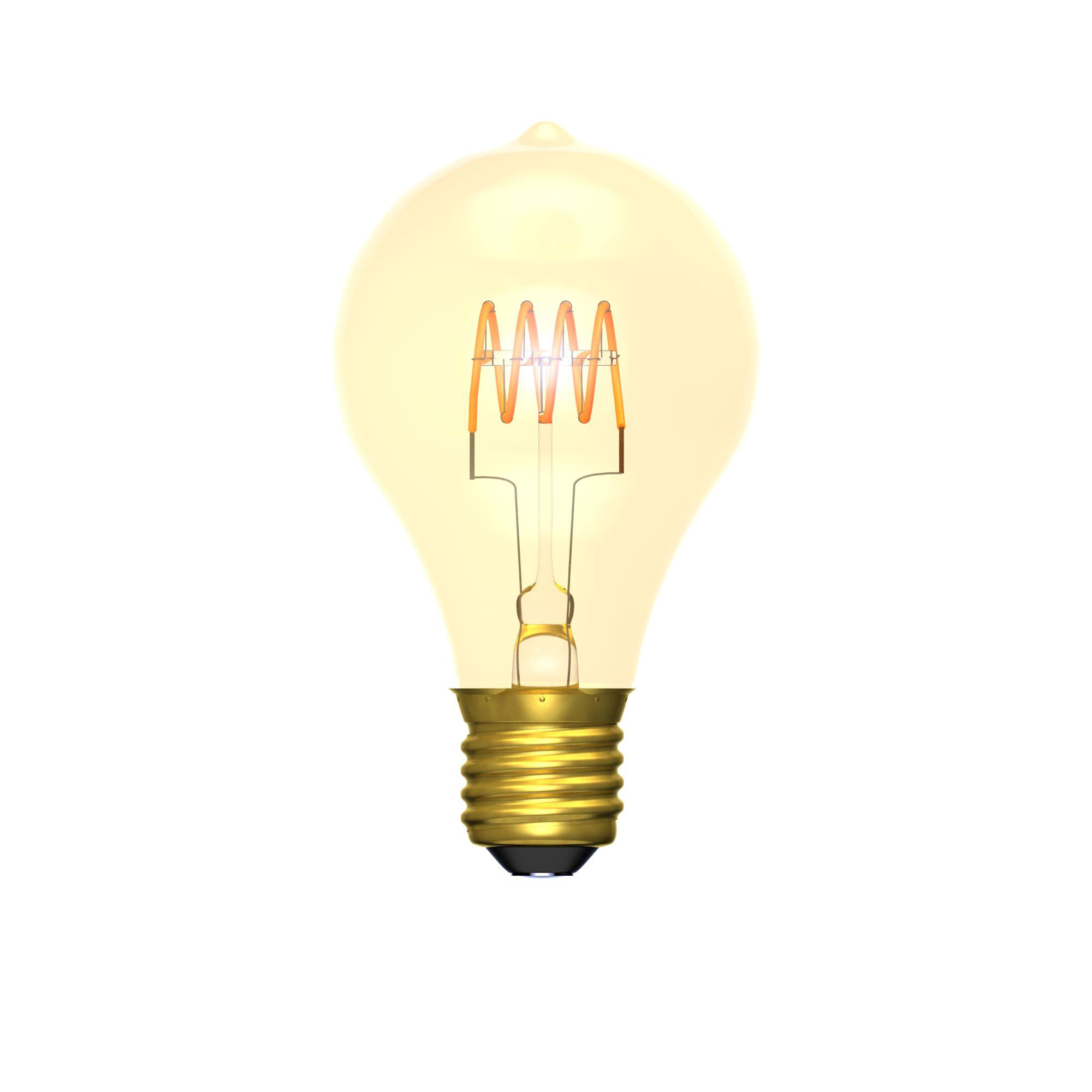 BL LED GLS ES 4W=25W GOLD D 15K SC DIMMABLE SOFT COIL FILAMENT