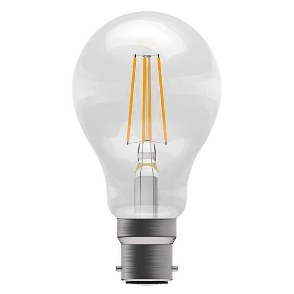BL LED GLS BCLR 4W=40W 827 CLR ND FILAMENT 15K NON DIMMABLE