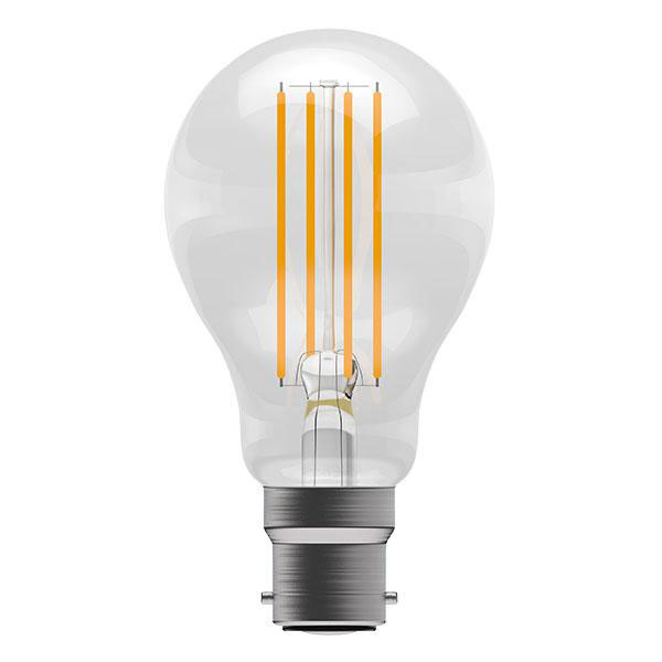 BL LED GLS BCLR 6W=60W 827 CLR ND FILAMENT 15K NON DIMMABLE