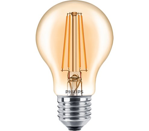 PH LED GLS ES 7.5W=48W GOLD D 15K FILAMENT DIMMABLE