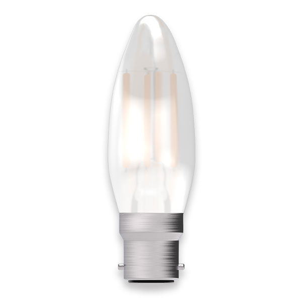 BL LED CANDLE BC 4W=40W OPL ND 15K FIL FILAMENT NON DIMMABLE