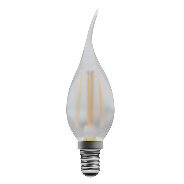 BL LED CANDLE SES 4W=40W OPL D 15K B/TIP FILAMENT DIMMABLE BENT TIP