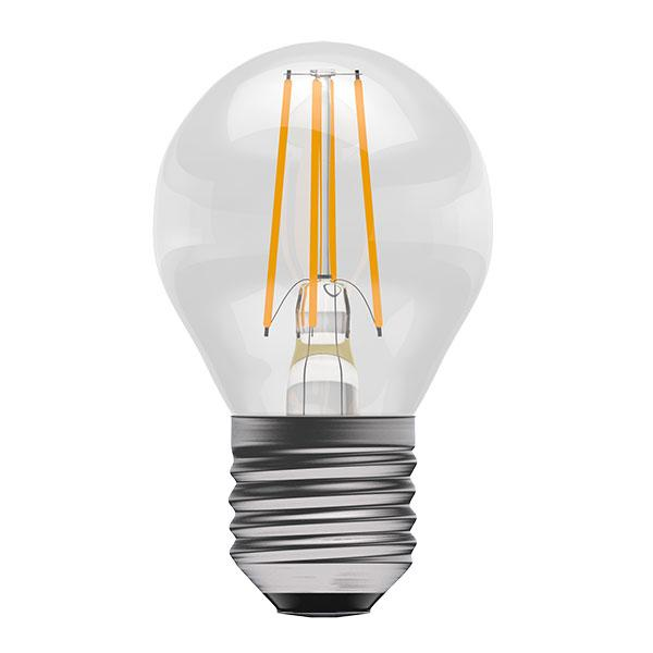BL LED BALL ES 4W=40W CLR ND 15K FIL FILAMENT NON DIMMABLE