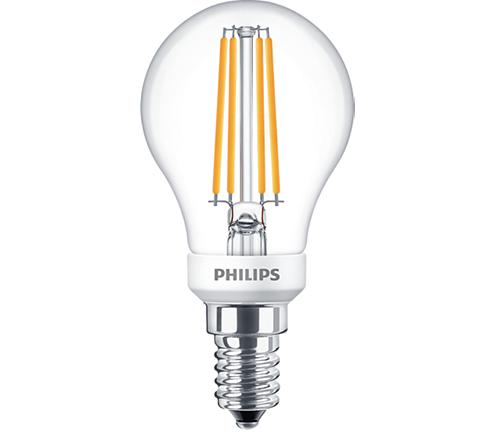 PH LED BALL SES 5W 827 CLR FIL D 15K DIMMABLE FILAMENT CLEAR