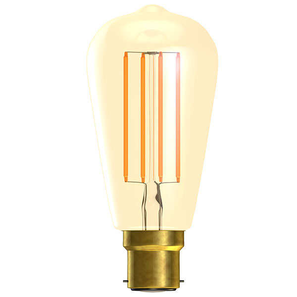 BL LED RUSTIKA BC 4W=25W GOLD ND VINTAGE 15K NON DIMMABLE FILAMENT