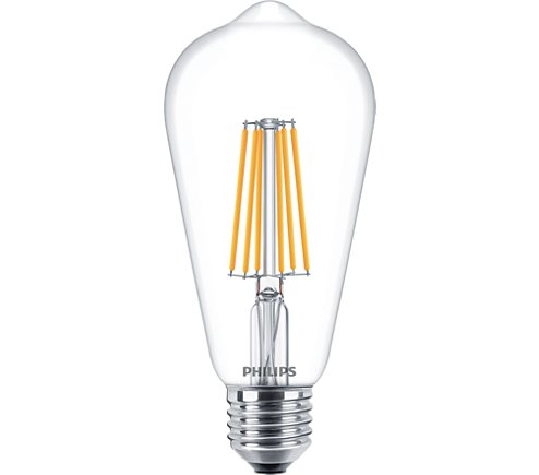 PH LED RUSTIKA ES 7.2W 827 CLR FIL D 15K DIMMABLE FILAMENT CLEAR