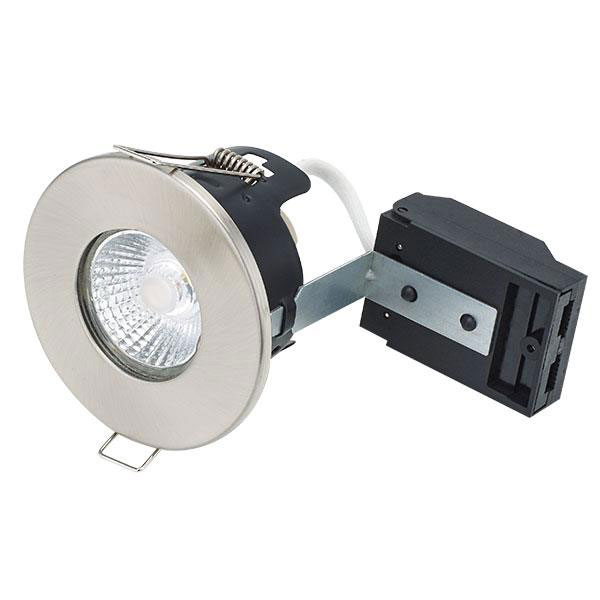 BL DOWNLIGHT FIRESTAY FIRE RATED IP65 WH FITTING SHOWERLIGHT GU10 LAMPHOLDER