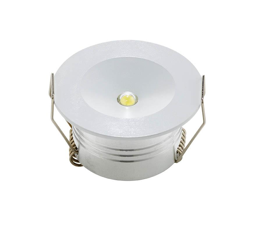 LED EMERGENCY DOWNLIGHT 3W OPEN AREA NM RECESSED ROUND OPEN AREA NON MAINTAINED