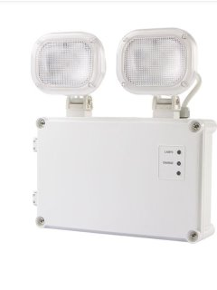 LED EMERGENCY TWIN SPOT 10W NM ST IP65 NON MAINTAINED SELF TEST
