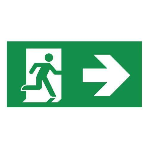 LEGEND RIGHT ARROW FOR EXIT BULKHEAD