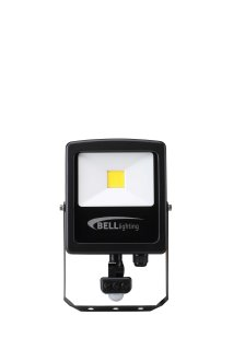 BL LED FLOODLIGHT 10W=120W 840 PIR 35K SKYLINE SLIM