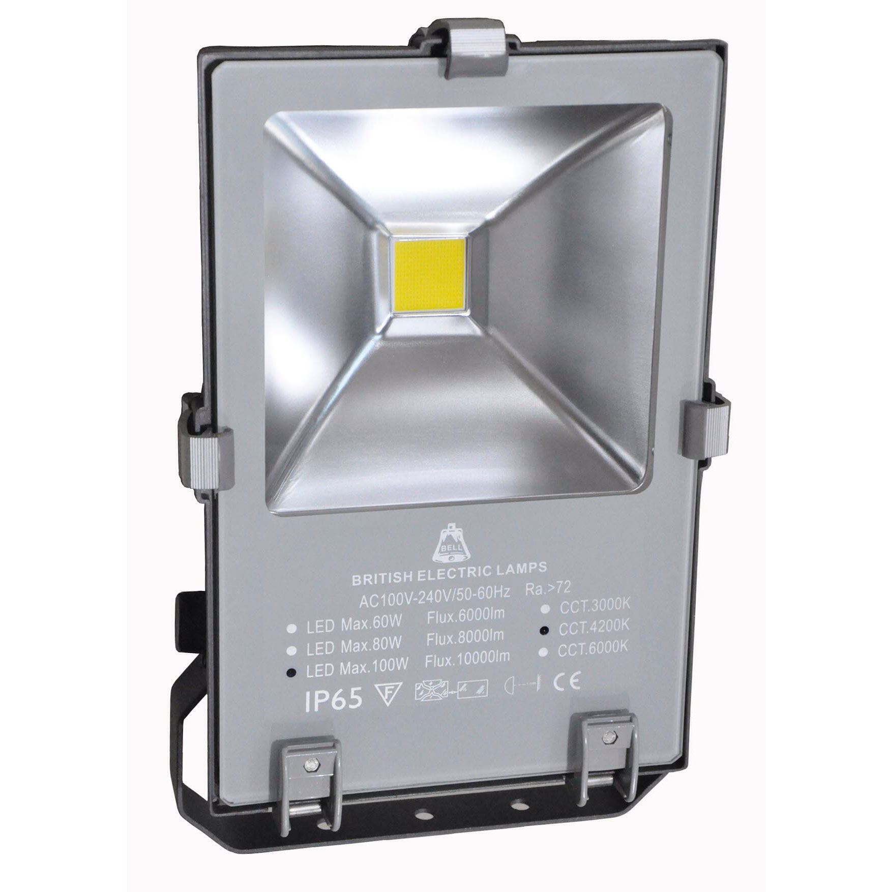 BL LED FLOODLIGHT 100W=250W 50K PHOTOCELL SKYLINE PRO DAWN TO DUSK