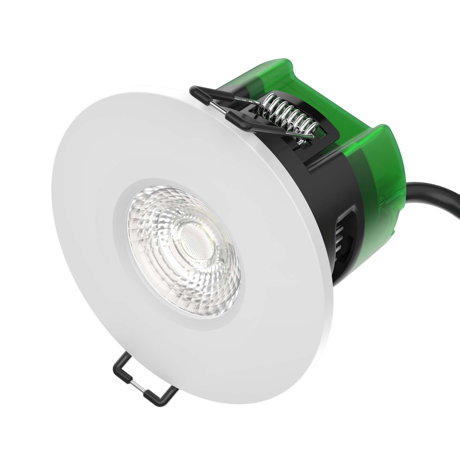 BL LED DL FIRESTAY FXD 6W IP65 830 D 35K DOWNLIGHT DIMMABLE FIXED